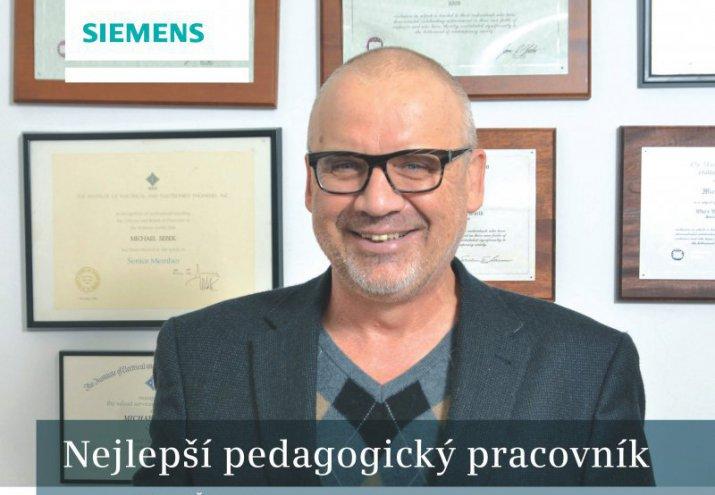 Cena Siemens - Nejlepsi pedagog